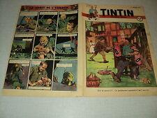 TINTIN 1947/27 (3/7/47) EDGAR P JACOBS LE SECRET DE L'ESPADON HERGE