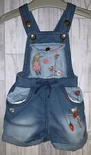 Girls Age 6-9 Months - Next Dungaree Shorts - Super Cute