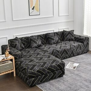 Stretch Elastic Sofa Cover Living Room L-shaped Sofa Protector Chair Couch Cover