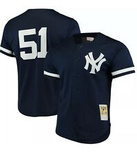 Mitchell and Ness New York Yankees Authentic 1998 Bernie Williams BP Jersey Sz M