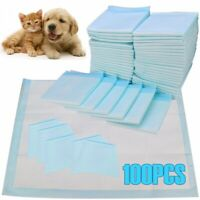 100pcs Pet Dog Pads Puppy Cat Indoor Toilet Training Pad Super Absorbent 60x60cm