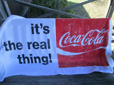 Coca-Cola It's The Real Thing 100% Cotton Beach Towel  - BRAND NEW
