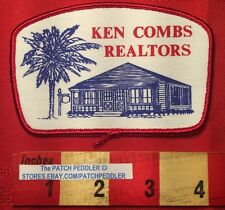 Patch ~ KEN COMBS REALTORS Red Border Corpus Christi TX House Real Estate 5NB6