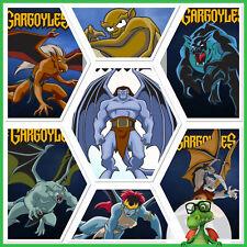 Topps Disney Collect Card  GARGOYLES Motion GARGOYLE SET W/AWARD