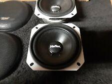 "New listing Rare Old School Hafler Sq 4"" Car Stereo midrange Speakers amplifier mids Rf"