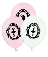 "Ballerina in Cameo 12"" Printed Latex Assorted Balloons pack of 20 by Party Decor"