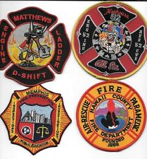 New Fire Patches 4 Set # 354   fire patch