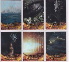 The Hobbit The Desolation of Smaug, 'Smaug' Foil Chase Card Set #S1-6