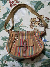 Fossil Stripe Small Shoulder bag * New