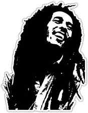 "Bob Marley Reggie Jamaica Music Car Bumper Window Sticker Decal 4""X5"""
