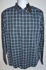 Theory Man's Barham Casual Shirt W/ Pockets Size X-large Retail