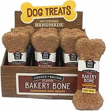 Cosmo's Snack Shack Pet Treats (Cheese & Bacon Bakery Bone, Case (24 Count))