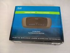 Linksys E1000 Wireless-N Router  2.4GHz Band
