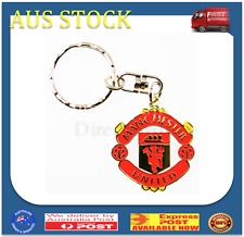 Manchester United Metal Logo Keychain EPL Football Soccer Keyring Key ring