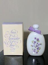 Vintage Avon Lavender & Lace Cologne 1.7 oz 95% Full