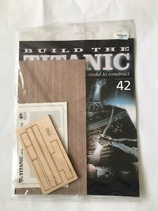 1/250 Hachette Build The Titanic Model Ship Issue 42 Inc Part Pictured.