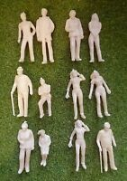 1:43 Scale O Gauge Model Railway Architecture Unpainted Figures