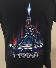 Super Vintage Transformers Prime Superhero Adult Shirt Size Large