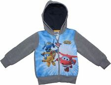 Super Wings Jett and Dizzy Hooded Sweater Jumper   New 2018