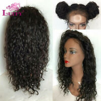5*5 Silk Base Full Lace Wigs Malaysian Curly Human Hair Silk Top Lace Front Wigs