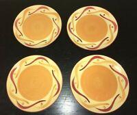 "(4) Gail Pitmann SIENA 7 3/4"" Salad Plates"