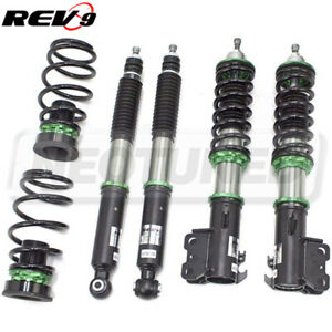 Rev9 R9-HS2-108_2 Hyper-Street 2 Coilovers 32-Way Kit For Toyota Prius C 2012-19