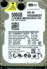 WESTERN DIGITAL SATA 500GB WD5000BUDT-63G8FY0,  EBNTJBNB