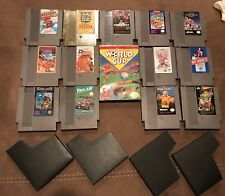 Nintendo NES 13 Games Lot!! Mario, Zelda, Punchout, Ducktales & MORE!!!