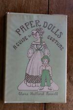 "Vintage ""Paper Dolls: A Guide to Costume� by Clara Hallard Fawcett."