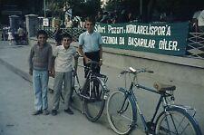 35 mm slide original vintage item ISTANBUL  1971  C       BOYS NOW MEN !