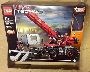 Lego Technic Rough Terrain Crane 42082 New Sealed