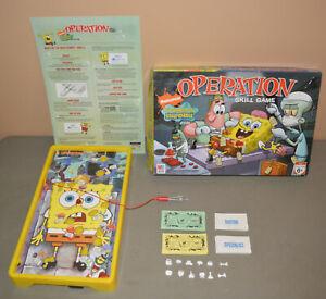 OPERATION Spongebob Squarepants game - Milton Bradley 2007