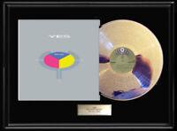 YES 90125 ALBUM WHITE GOLD SILVER PLATINUM TONE RECORD LP RARE NON RIAA AWARD