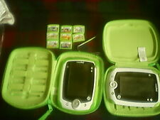 2 LEAPPAD LEAP FROG CONSOLES WITH 8 GAMES.BUY NOW £50.00 OR OFFERS-FREE UK POST