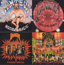 4 CDs SET PANTERA: Metal Magic/I Am The Night/Power Metal/Projects In The Jungle