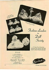 1949 PAPER AD Vogue Doll Dolls Cinderella Fairy Godmother Velva Wetting Baby