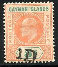 CAYMAN ISLANDS SCOTT# 19 SG# 19 MINT HINGED AS SHOWN