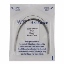 1 Pack Dental Orthodontic Super Elastic Niti Arch Wires Ovoid Form Wire Round