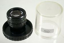 Zeiss Jena Microscope Lens Microscopio NUOVO NEW demo GF planachromat 1x m25