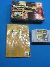 Nintendo 64 Command & Conquer COMPLETE - 3-D
