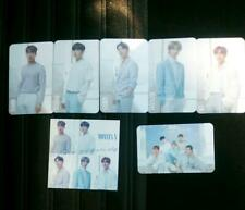 MONSTA X Official Wish on the same sky photocard photo card FULL SET sticker
