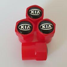 KIA Res Plastic Wheel Valve Dust caps all models 7 colours ask xmas stocking