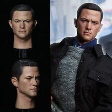 "1/6 Scale Head Sculpt Joseph Gordon Robin Figure fit 12"" Hot Toys Male Body"