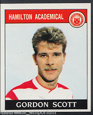 PANINI CALCIO 1989 Sticker-n. 395-Hamilton-Gordon Scott (d1)