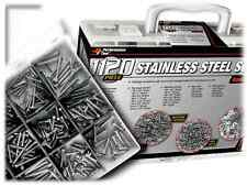 1121pc Stainless Steel SCREWS WASHERS & NUTS Fastener Assortment Kit Machine Set