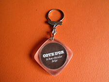 PORTE-CLES 1960 1970 CHOCOLAT BELGE COTE D'OR