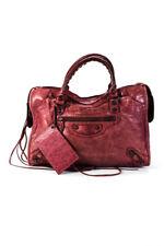 Balenciaga Womens Leather Studded M