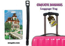 phantom manor haunted house disneyland 110 étiquette bagage nom luggage tag name