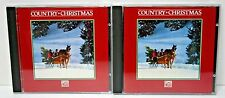 Country Christmas Time Life CD Set Elvis Loretta Lynn Willie Nelson Roy Orbison+