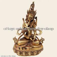 Mandkesvara Tantric Yab-Yum happiness Buddha Nepal Bronze Statue